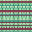Illustration seamless knitted pattern. — Stockvectorbeeld