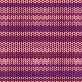 Illustration seamless knitted pattern. — Wektor stockowy
