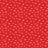 Seamless pattern with hearts linked together — Stok Vektör