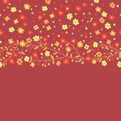 Kvetoucí větve — Stock vektor