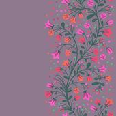 çiçekli dallar — Stok Vektör