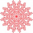 Stock Vector: Flower Mandala