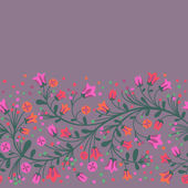 开花的分支 — 图库矢量图片
