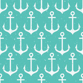 Seamless pattern with anchors. — Stock Vector