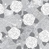 Wzór z różami. — Wektor stockowy