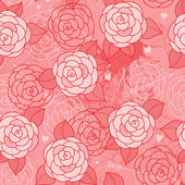 Seamless pattern with roses. — Wektor stockowy