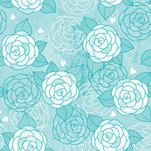 Seamless pattern with roses. — Vettoriale Stock