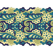 Decorative seamless border — Stock vektor