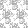 Vintage seamless pattern with a bouquet of flowers — ストックベクタ #47397289