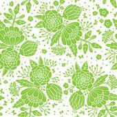 Sem costura vintage padrão com flores decorativas. — Vetorial Stock