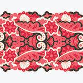Decorative seamless border — Stock Vector