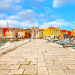 Old Istrian town in Porec, Croatia. — Stock Photo #19411051
