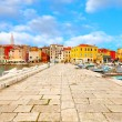 Stock Photo: Old Istritown in Porec, Croatia.