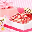 Valentine cupcake — Stock Photo #19437769