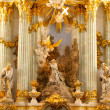 Interior of church in Dresden, church of our lady, Germany — Stock Photo