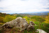 Paisaje de la istria, croacia. — Foto de Stock