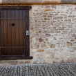 Old medieval door — Stock Photo