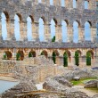 Details of colosseum - great italian landmarks series - Стоковая фотография