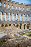 Details of colosseum - great italian landmarks series — Stock Photo