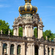 The Zwinger palace of Dresden. eastern Germany, built in Rococo - Stock Photo