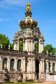 The Zwinger palace of Dresden. eastern Germany, built in Rococo — Stock Photo
