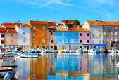 Old Istrian town in Novigrad, Croatia. — Stock Photo