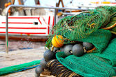 Close-up of fishing net — Stock Photo