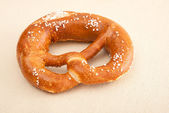 Fresh German pretzel (Bretzel) — Stock Photo