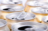 This is Aluminum can background — Stock Photo