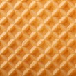 Structure of a baked golden waffle background — Stock Photo #22842902