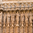 Statues of the Twelve Apostles (katalonien - Spain) - Stock Photo