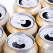 Aluminum beer cans — Stock Photo #25496117