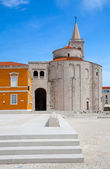 Church of Saint Donatus, a monumental building from the 9th cent — Stock Photo