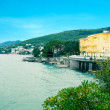 Seaside town Opatija. Croatia. — Stock Photo