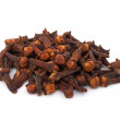 Cloves isolated on white background — Stock Photo