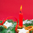 Christmas decorations — Stock Photo #30971295