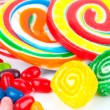 Colorful lollipops — Stockfoto