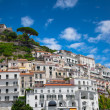 Travel in Italy series - view of beautiful Amalfi — Stock Photo