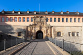 The Citadel Petersberg of Erfurt, Germany — Stock Photo