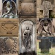 Old religious architectural details, Germany — Stock Photo