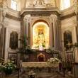 Catholic church interior in Italy. — Stock Photo