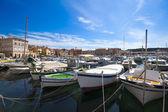 Yachts on the berth, Croatia. — Stock Photo