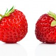 Strawberries isolated over white background — Stock Photo #48421519