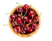 Sweet cherry, isolated on white background — Foto de Stock