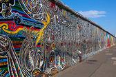 Berlin Wall, Berlin Germany.  the largest outdoor art gallery in — Stock Photo