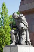 Soviet war memorial, Treptower Park, Berlin, Germany — Stock Photo