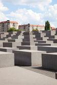 El memorial del holocausto en berlín — Foto de Stock