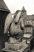 Carcassonne Angel Statue — Stock Photo