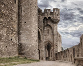 Carcassonne medieval castle — Stock Photo