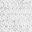 Royalty-Free Stock Photo: White grunge brick wall background